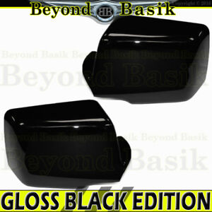 2006 07 08 09 2010 Ford Explorer Mountaineer Gloss Black Mirror Covers Overlays