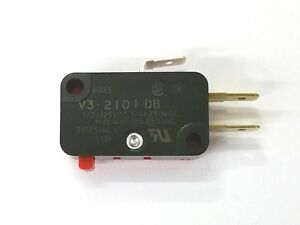New Micro Switch V3 2101 d8 Spdt On on Pin Plunger Snap Action Switch 10a