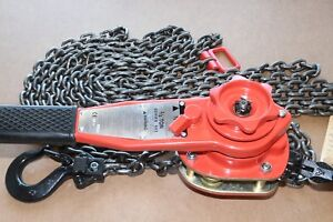 New Cm 653 Series 3 4 Ton Lever Chain Puller Hoist Come Along Tool 28 Lift