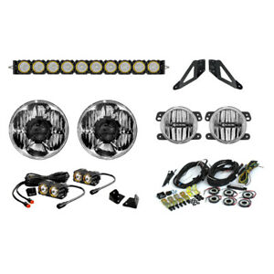 Kc Hilites Offroad Led Light Kit Stage 2 Jeep Wrangler Jk 2007 2016