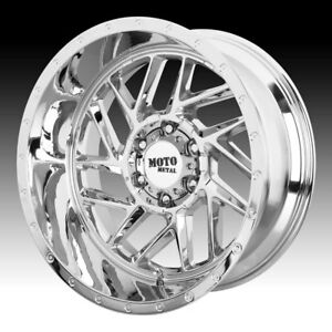 Moto Metal Mo985 Breakout Chrome 20x9 6x135 18mm mo98529063218
