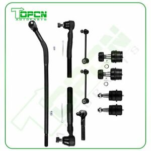 10x For 2007 2008 2009 2016 Jeep Wrangler Complete Front Rear Sway Bars Tie Rods