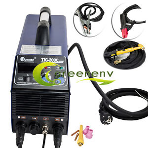 110v Dc Inverter Tig Mma Welder Welding Machine 200 Amp With Mask Tig 200c