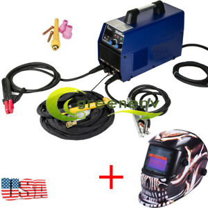 Tig Mma Dc Arc Welding Machine Stainless Carbon Steel Welder 220v