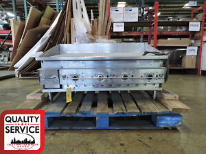 Keating 42flde Miraclean Commercial Electric Ribbed Griddle