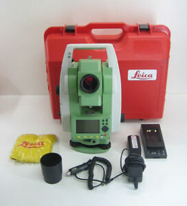 Leica Ts02 7 Demo Condition Total Station For Surveying 1 Month Warranty