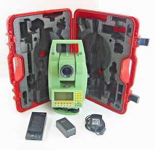 Leica Tcrm1105 Plus Total Station For Surveying 1 Month Warranty