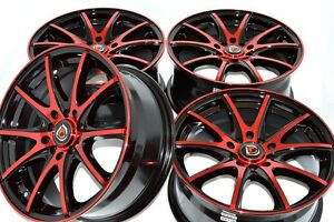 17 Rims Wheels Tires Corolla Sebring Civic Talon Camry Integra Mx5 5x100 5x114 3