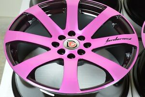 17 Rims Tires Wheels Aveo Integra Vigor Cobalt Civic Tiburon Miata 4x100 4x114 3