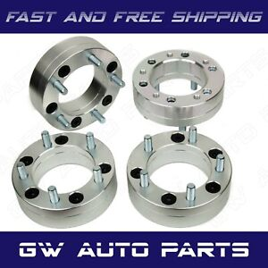 4 Wheel Adapters 2 Thick 6x5 5 To 5x4 75 6 Lug To 5 Lug Gmc Chevy Cadillac