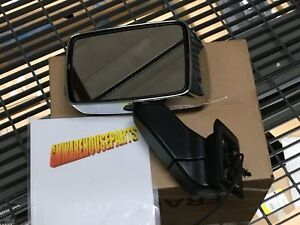 2007 2010 Hummer H3 Chrome Drivers Side Power Mirror New Gm 20836085