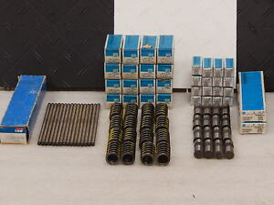 Nos Usa Gm Trw Engine Freshen Kit Hydraulic Lifters Valve Springs Pushrods