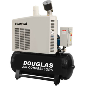 40hp Rotary Screw Air Compressor Dsrp 3040 Compact Free Shipping See Description