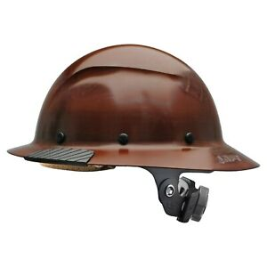 New Lift Safety Hdf 15ng Dax Full Brim Natural Hard Hat W Ratchet Suspension