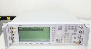 Agilent E4437b Esg Dp Signal Generator 250khz To 4ghz Loaded W Options Cal d
