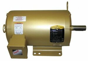 Em3218t 5hp Three Phase Baldor Electric Motor 184t new