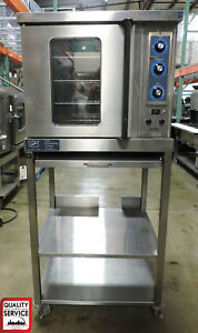 Duke 5 9 e3v 59 bs 1 2 Electric Convection Oven W Base Stand new Controls