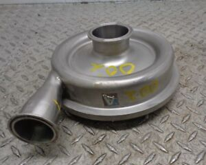 Stainless Steel 2 1 4 x 1 3 4 Centrifugal Pump Housing Impeller End