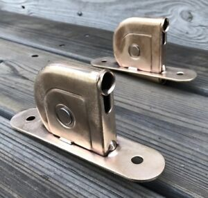 Vintage Brass Window Sash Pulleys 2 Clean Polished Vintage Brass Pulley