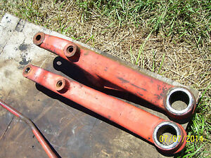 Vintage Ji Case 830 Lp Gas Tractor eagle Hitch Upper Arms 1964