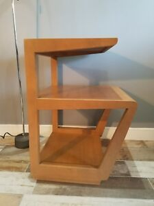 Rare 1940 S Vintage Edward Wormley End Table For Drexel Mid Century Modern