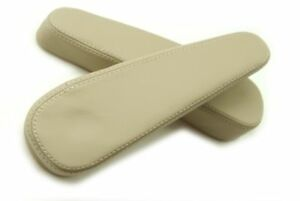 Chevy Tahoe Suburban Escalade Yukon Armrest Real Leather Cover Beige For 00 06