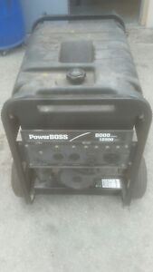 Power Boss 8000 12500 Watts Portable Generator With Honda Engine18 0 Gasoline