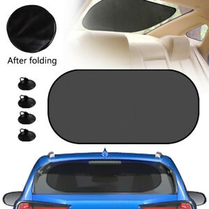 Auto Car Rear Window Sun Visor Shade Mesh Cover Shield Sunshade Uv Protector