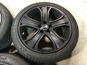 20 Inch Range Rover Sport Supercharged Black Oem Factory Wheel Tire Land Rover