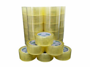 2 x110 Yards Scotch Tape Carton Box Packaging Tape 36 Rolls Carton Sealing