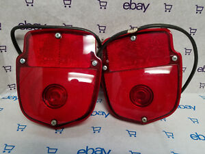 Vintage Ford Pick Up Stop Light 1955 65 New Old Stock One Pair Of Two Lights
