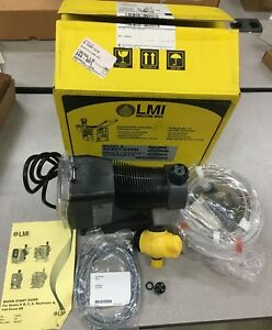 New In Box Lmi Milton Roy Electronically Controlled Metering Pump Ad861 948si