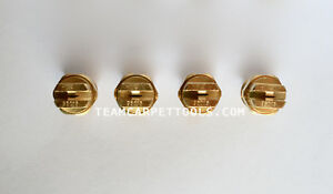 Carpet Cleaning Wand Replacement Brass 1 4 V jets 95015 Vee Jets 4 Count