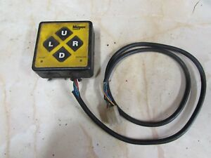 Used Meyer Snow Plow Touch Pad Controller 22154 Tested Works