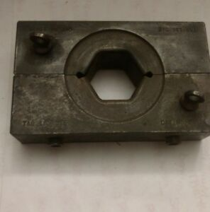 Thomas Betts 21940 40 Ton Hydraulic Crimp Tool Die 11416