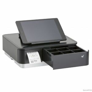 Star Micronics Mpop Black Integrated 2 Inch Thermal Printer Cash Drawer Un