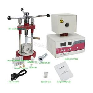 Usa Fda Dental Flexible Denture Machine Dentistry Injection System Lab Equipment
