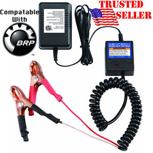 Can am Spyder 4x4 12v Battery Maintainer Tender Float Smart Charger