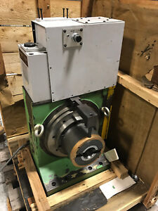 Buck Mmk 12 Rotary Table Ndu321l hcss 05 Cnc With Fanuc Servo Motor