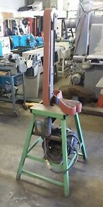 Vertical 3 Hp Belt Sander W 16 X 16 Table 36 Working Height