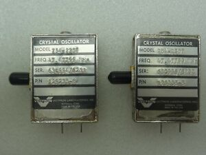 Lot Of 2 Vectron Model 254 2357 Crystal Oscillators P n 129235 3 47 47799 Mhz
