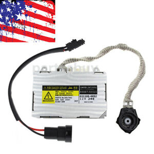 New Xenon Hid Ballast For Toyota Lexus Mazda Rx 8 Lincoln Aviator Avalon Kdlt002
