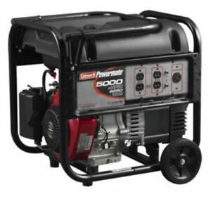 Powermate 5000 Watt Portable Generator With Subaru Ex30 Engine
