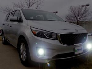 4300k 55w Bumper Fog Lamp Kit For 2015 2016 2017 2018 Kia Sedona L