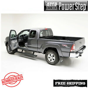 Amp Research Powerstep Automatic Power Running Boards 2005 2015 Toyota Tacoma