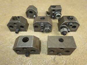 6 C18 Type And 1 C19 Type Boring Tool Holders Hardinge Type Second Op Chucker