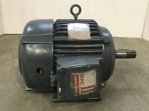 7 5 Hp Westinghouse Motor Three Phase 213t Frame 1765 Rpm