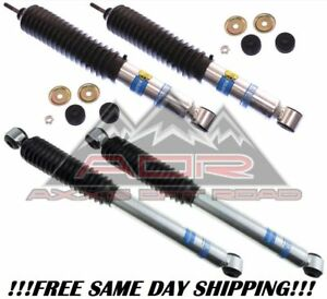 Bilstein Front Rear 5100 Series Shocks For 2005 2016 Ford F 250 F 350 W 6 Lift
