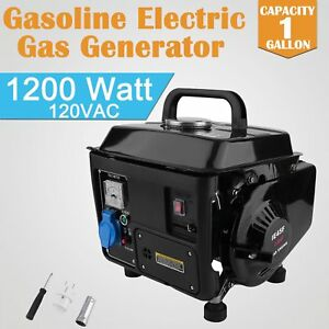 Household Gasoline Generator 1200w 60hz 2hp Generator Set Small Petrol Generator