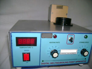 Digital Melting Point Apparatus Healthcare Lab Life Science